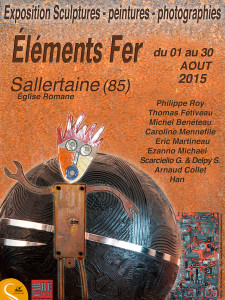 Exposition sallertaine aout 2015